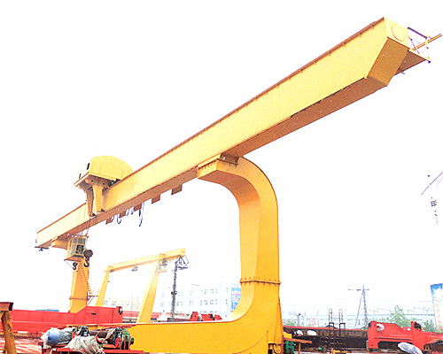 L type leg singe girder gantry crane for sale