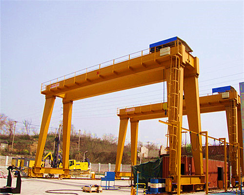 MG type gantry crane without cantilever