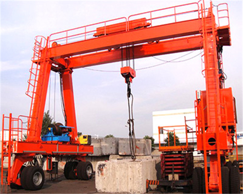 Rubber-tyred gantry crane manufacturer