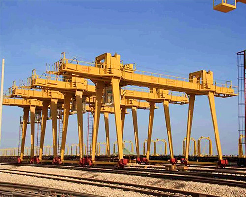 Single girder box structure cantilever gantry crane for sale
