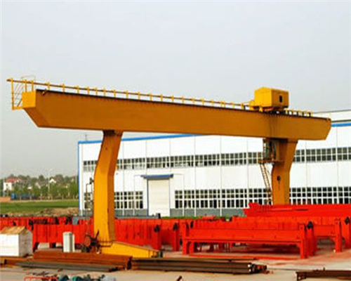 Electric L shaped single girder gantry crane