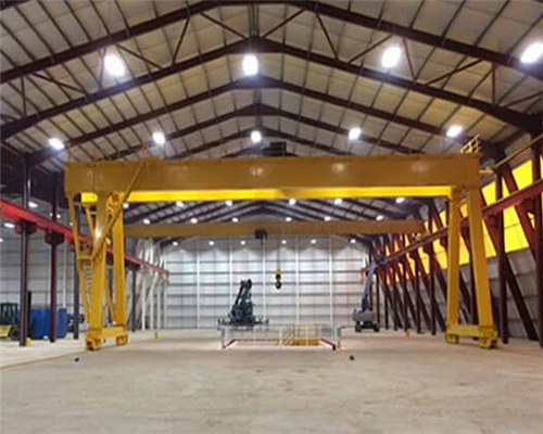Garage gantry crane