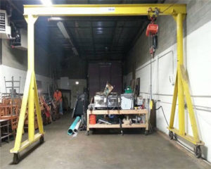 Garage gantry cranes for sale