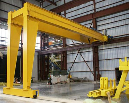 Indoor double girder gantry crane