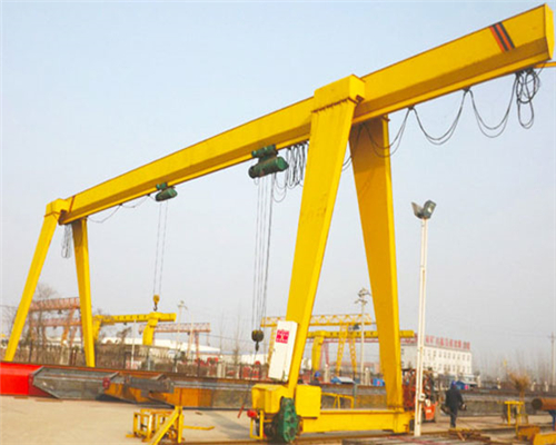 Outdoor single girder gantry crane