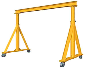 1 ton telescoping gantry crane