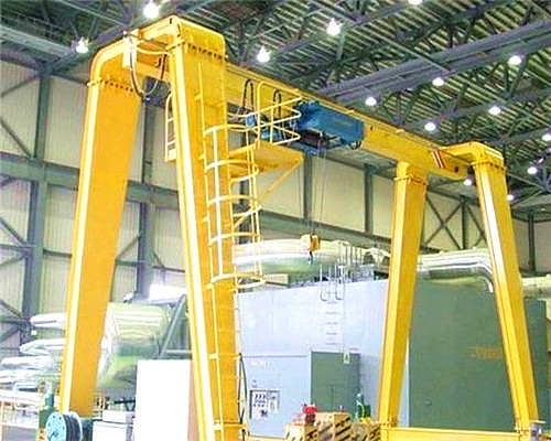Single girder gantry crane 10 ton for sale