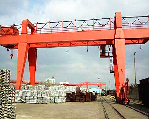 20 ton double girder gantry crane
