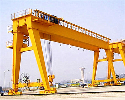 A frame double girder gantry crane