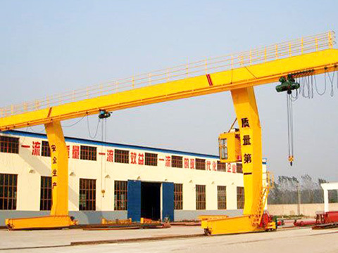 L-type single girder gantry crane sales