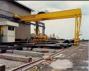 5 ton semi gantry cranes for sale