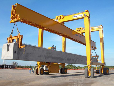 competitive Weihua rubber tired gantry crane sales