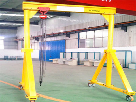 mobile gantry crane sales