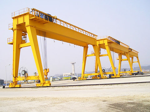 outdoor double girder gantry crane sales