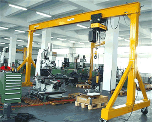 Workshop portable gantry crane manufacturer