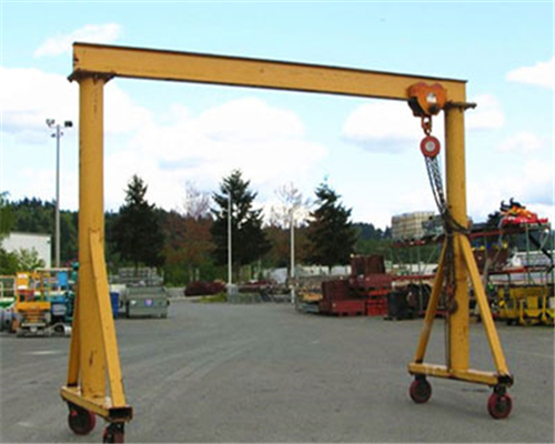 Small portable gantry crane for sale