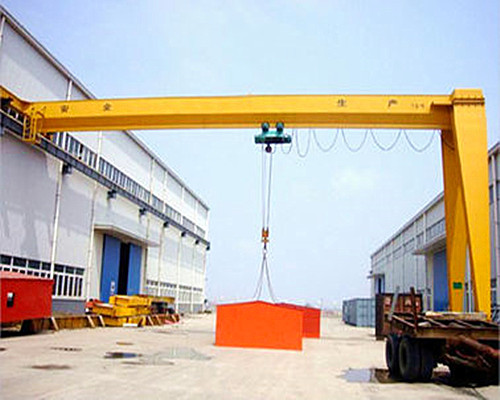 Semi gantry crane 10 ton for sale