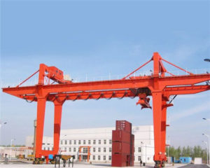 U frame double girder gantry crane