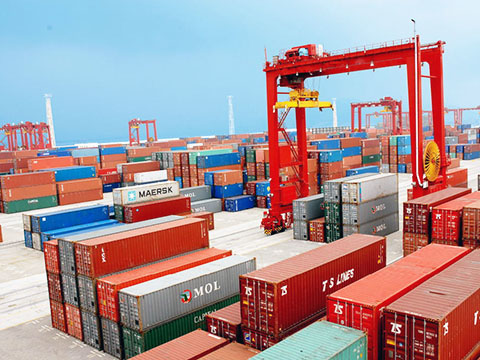 container gantry crane use in the port