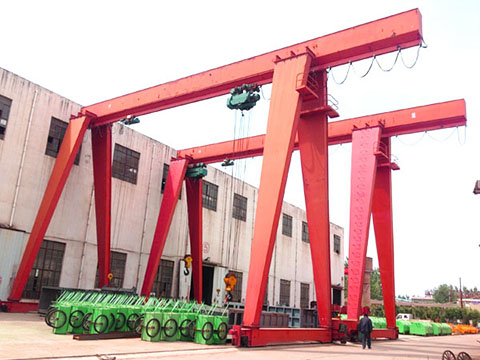 single girder electric gantry crane sale