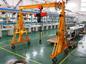 portable workshop gantry crane supplier