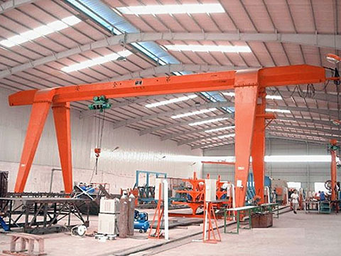 single girder garage gantry crane sale
