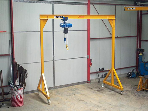Workstation Gantry Crane Sales & Services | Crane Supplier