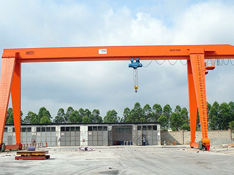 20 ton single beam gantry crane for sale