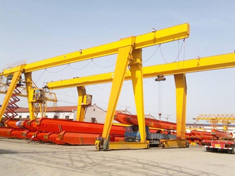 electric single girder gantry crane for sale