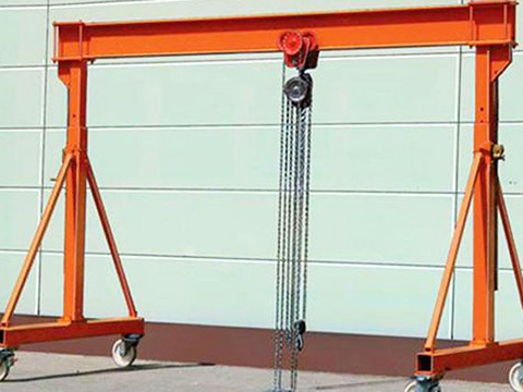 small gantry crane supplier