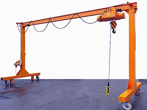 2 ton portable gantry crane for sale