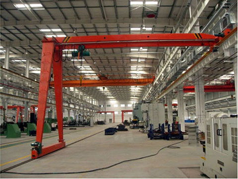 common semi gantry crane 2 ton for sale