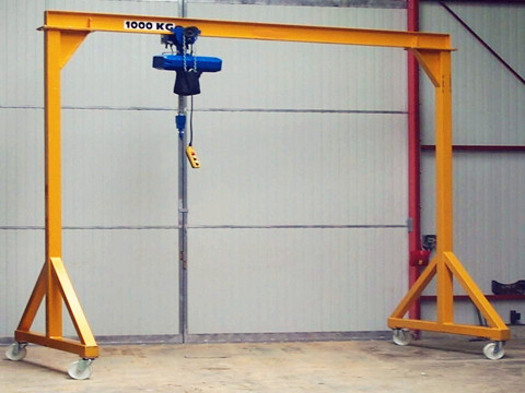 1-ton portable gantry crane for sale