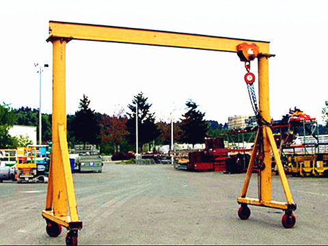 1 ton travelling gantry crane supplier