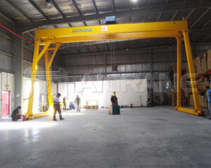 Double Girder 5 Tonne Gantry Crane for Sale