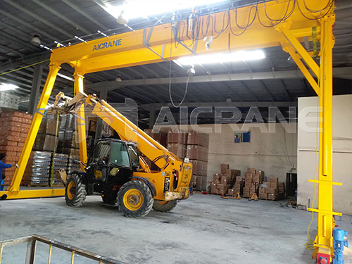 5T Gantry Crane Installation