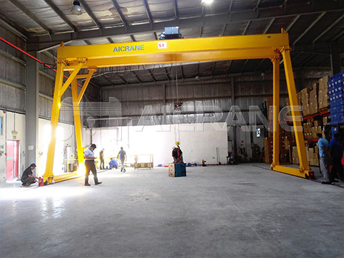 Electric Hoist Gantry Crane Price