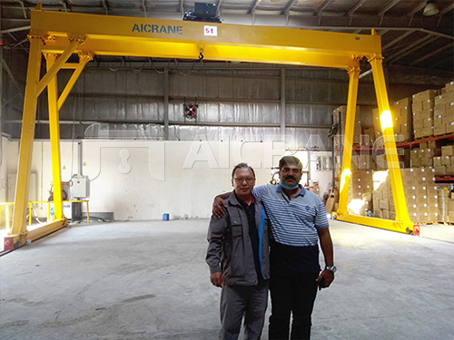 Double Girder 5 Tonne Gantry Crane