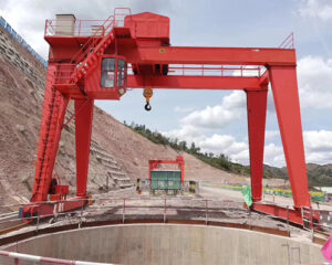 Double Girder 20 Ton Gantry Crane for Sale