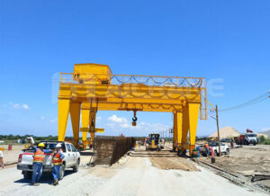 Double Girder Electric Gantry Crane Manufacturer