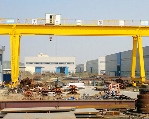 Double Girder Gantry Crane 15 Ton