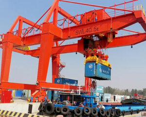 Rail Mounted Gantry Crane for Port