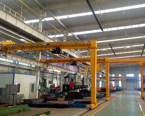 Light Duty Semi Gantry Crane for Sale