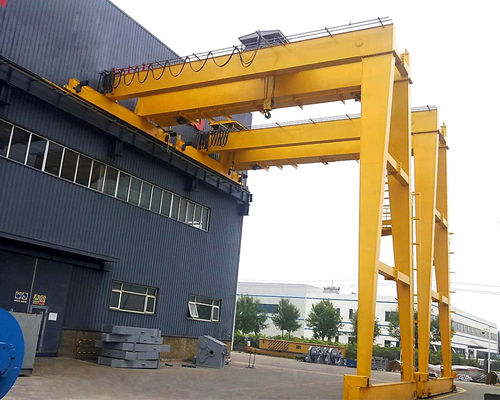 Aicrane Semi Gantry Crane for Sale