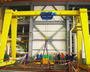 Single Girder Small Gantry Crane